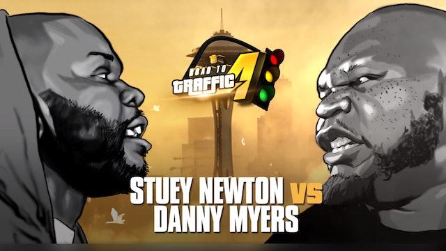 STUEY NEWTON  VS DANNY MYERS