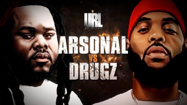 ARSONAL VS DRUGZ