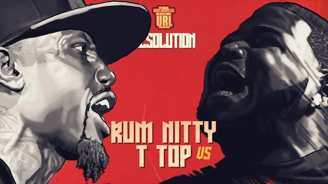 RUM NITTY VS T-TOP