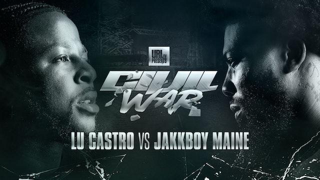 LU CASTRO VS JAKKBOY MAINE
