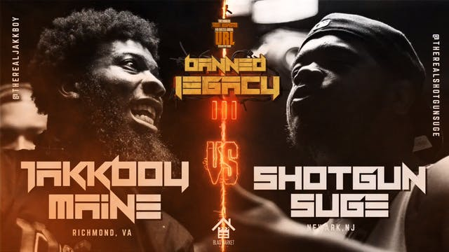 JAKKBOY MAINE VS SHOTGUN SUGE