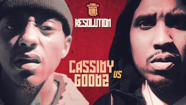 YOUTUBE RELEASE TRAILER: GOODZ VS CASSIDY