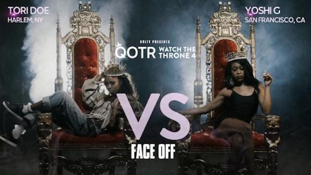 TORI DOE VS YOSHI G FACE OFF