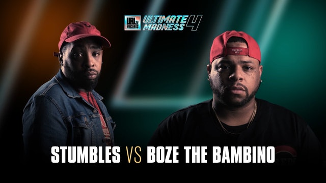 STUMBLES VS BOZE THE BAMBINO