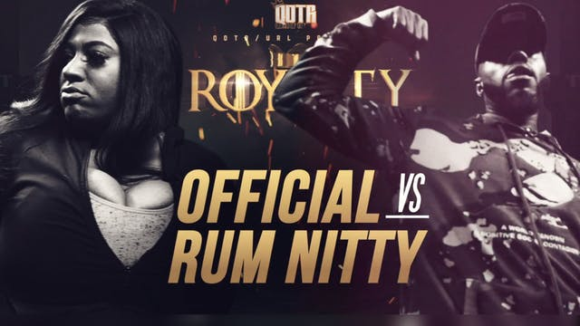 O'FFICIAL VS RUM NITTY