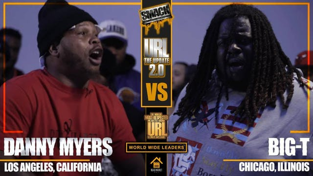 DANNY MYERS VS BIG T