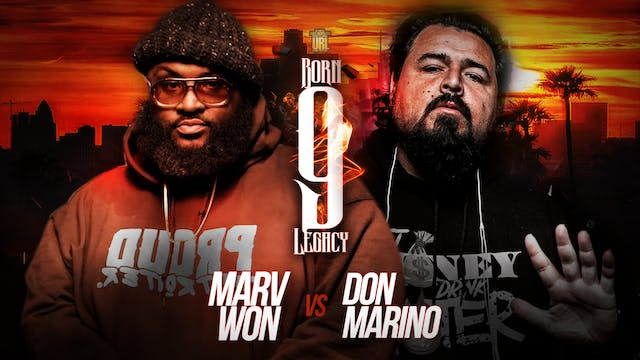 MARV WON VS DON MARINO