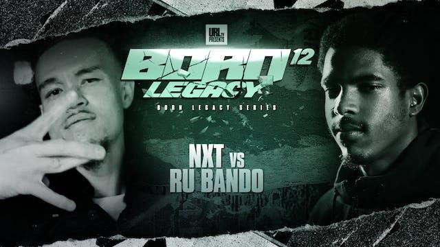 NXT VS RU BANDO