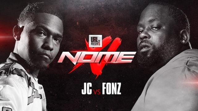 JC VS FONZ