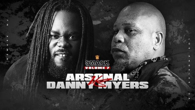 ARSONAL VS DANNY MYERS