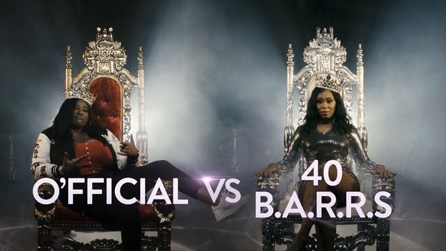 O'FFICIAL VS 40 B.A.R.R.S.