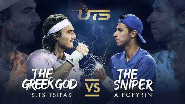 TSITSIPAS vs POPYRIN - HIGHLIGHTS
