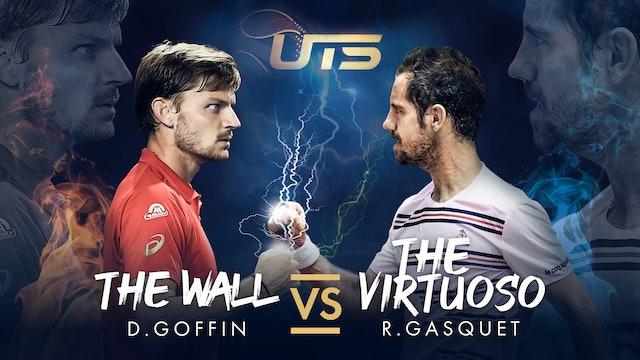 Day 1 - GOFFIN vs GASQUET