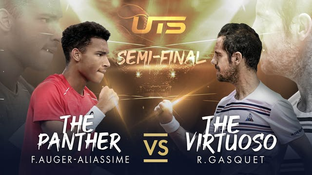 WARM UP - AUGER-ALIASSIME vs GASQUET