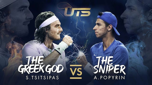 Day 6 - TSITSIPAS vs POPYRIN