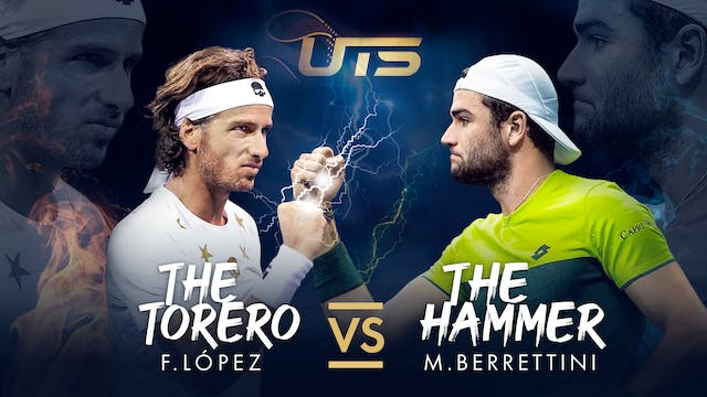 Day 3 - LOPEZ vs BERRETTINI
