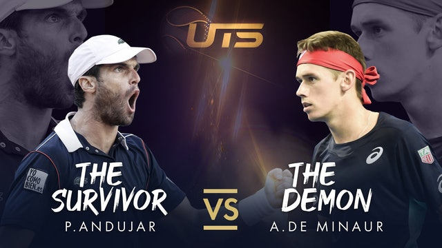 Replay UTS 3 Day 1 - Andujar vs De Minaur