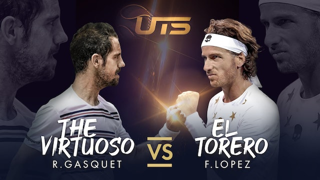 WARM UP - GASQUET vs LOPEZ