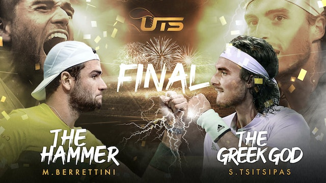 FINAL - TSITSIPAS vs BERRETTINI