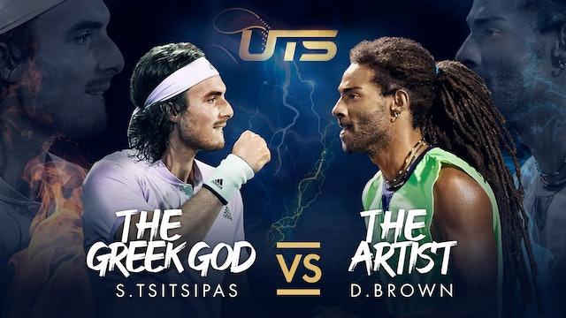 Day 3 - TSITSIPAS vs BROWN