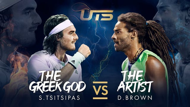 Day 3 - TSITSIPAS vs BROWN