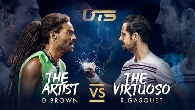 Day 4 - BROWN vs GASQUET