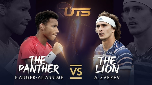 WARM UP - ZVEREV vs AUGER-ALIASSIME