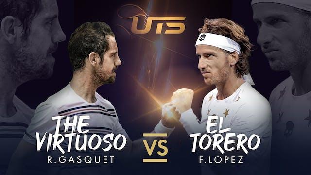 Replay Day 2 - Gasquet vs Lopez