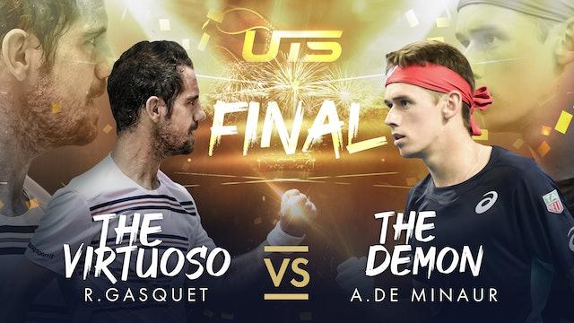 Replay UTS 3 Day 3  Gasquet vs De Minaur