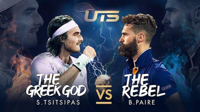 Day 1 - TSITSIPAS vs PAIRE
