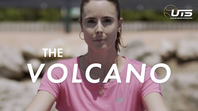 ALIZÉ CORNET: THE VOLCANO