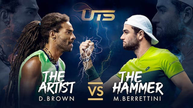Day 1 - BROWN vs BERRETTINI