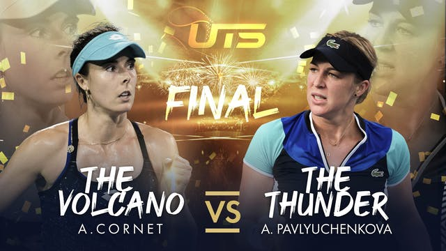HIGHLIGHTS - CORNET vs PAVLYUCHENKOVA
