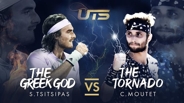 TSITSIPAS vs MOUTET