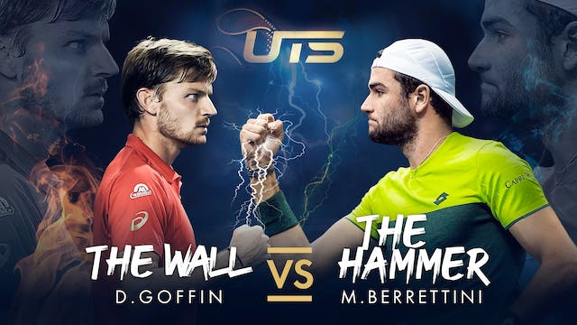Day 2 - GOFFIN vs BERRETTINI