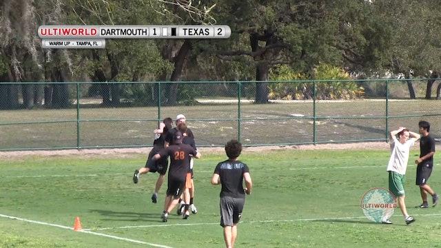 Florida Warm Up 2013: Texas vs Dartmouth (M)