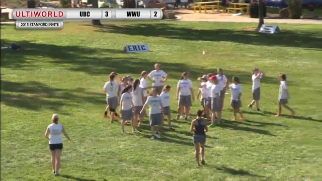 Stanford Invite 2015: UBC v. WWU (W P...