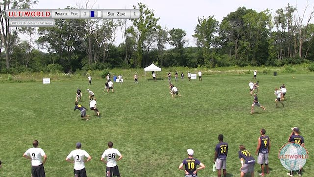 Elite-Select Challenge 2015: Prairie Fire v Sub Zero (M Pool)