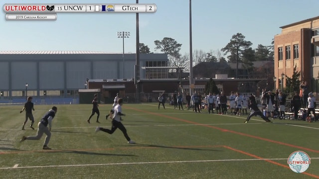 UNC Wilmington vs. Georgia Tech | Men's Pool Play | Carolina Kickoff 2019