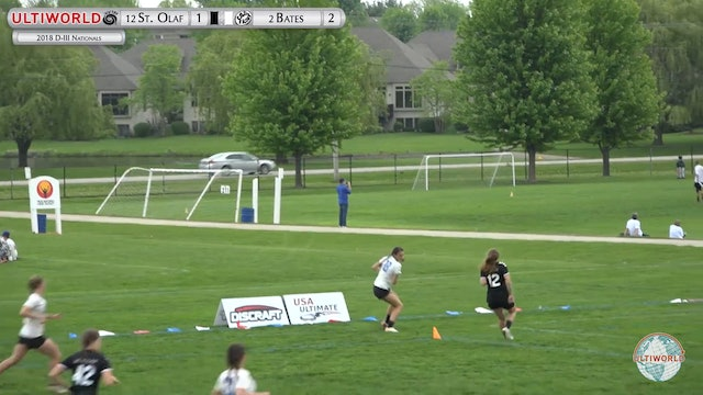 St. Olaf vs. Bates | Women's Pool Play | D-III College Championships 2018
