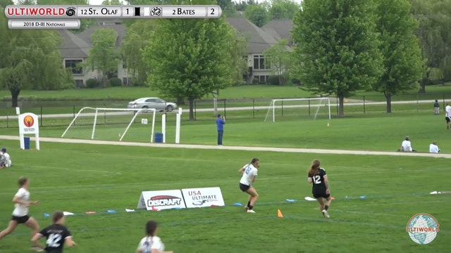 D-III Nationals: St. Olaf vs. Bates (W Pool)