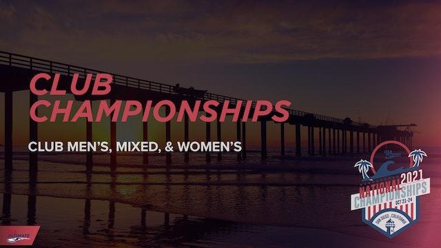 Club Championships 2021
