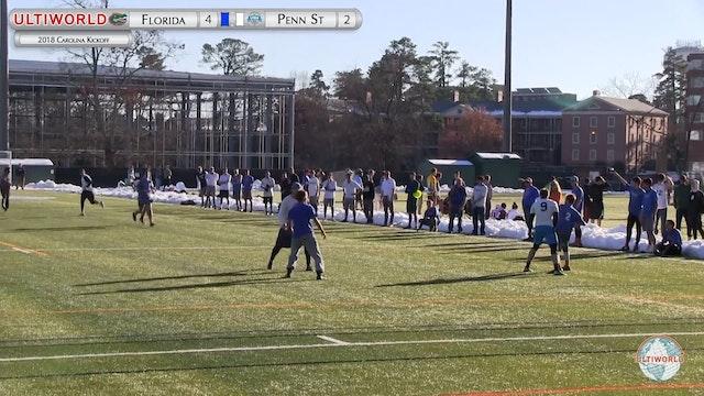 Carolina Kickoff 2018: Florida v Penn St (M Round Robin)