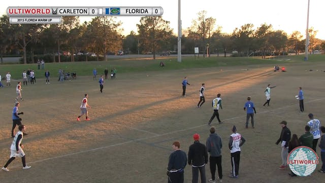 Florida Warm Up 2015: Carleton v Flor...