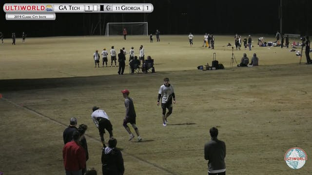 Classic City Invite 2019: #11 Georgia vs Georgia Tech (M)