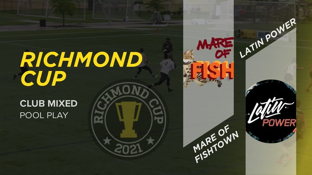 Mare of Fishtown vs. Latin Power   Mixed Pool Play