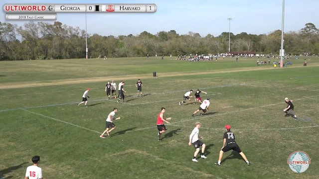 Tally Classic 2018: Georgia v Harvard (M Pool)