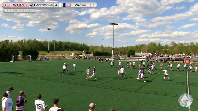 AC: Georgetown v Virginia (M 1st Semi...
