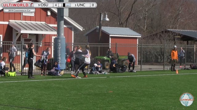 Commonwealth Cup 2019: #9 OSU vs #3 UNC (W Semi)