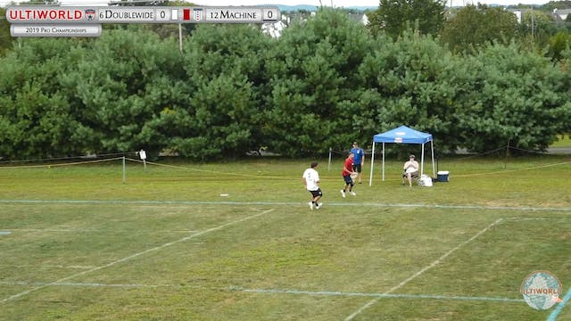 Machine vs. Doublewide | Men's Quarte...